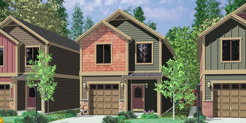 Investment properties duplex triplex and four plex house plans for 4 plex house plans