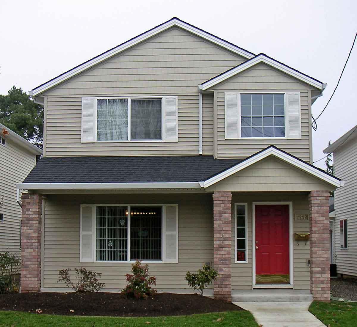 Peachy Narrow Lot House Plans Building Small Houses For Small Lots Inspirational Interior Design Netriciaus