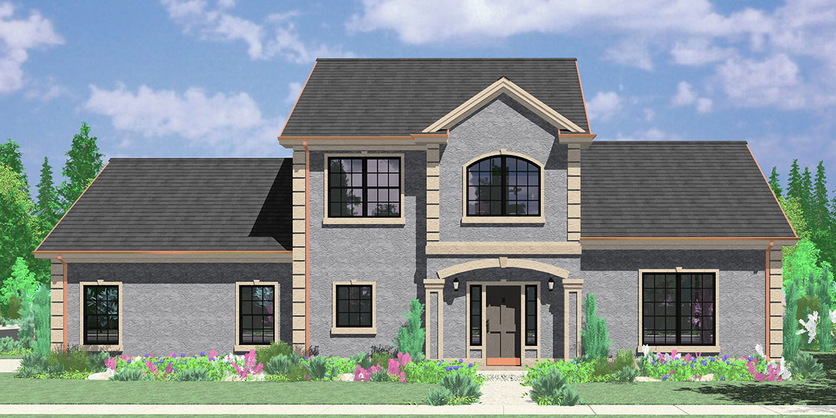 Elegant Side Entry Garage House Plans
