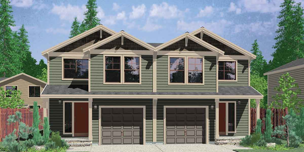 Craftsman House Plans For Homes Built In Craftsman Style