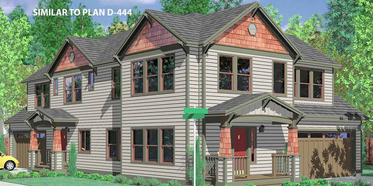 Craftsman house plans for homes built in craftsman style for Corner house plans