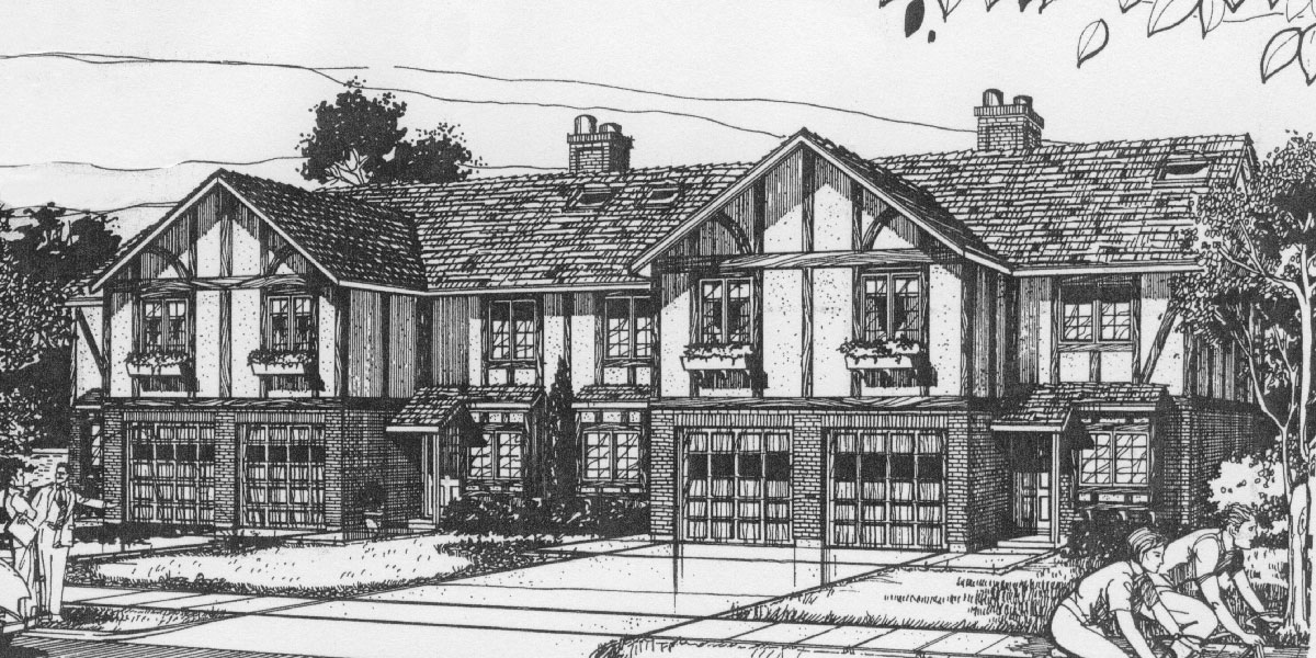 Tudor House Plans Tudor Revival Style Floor Plans