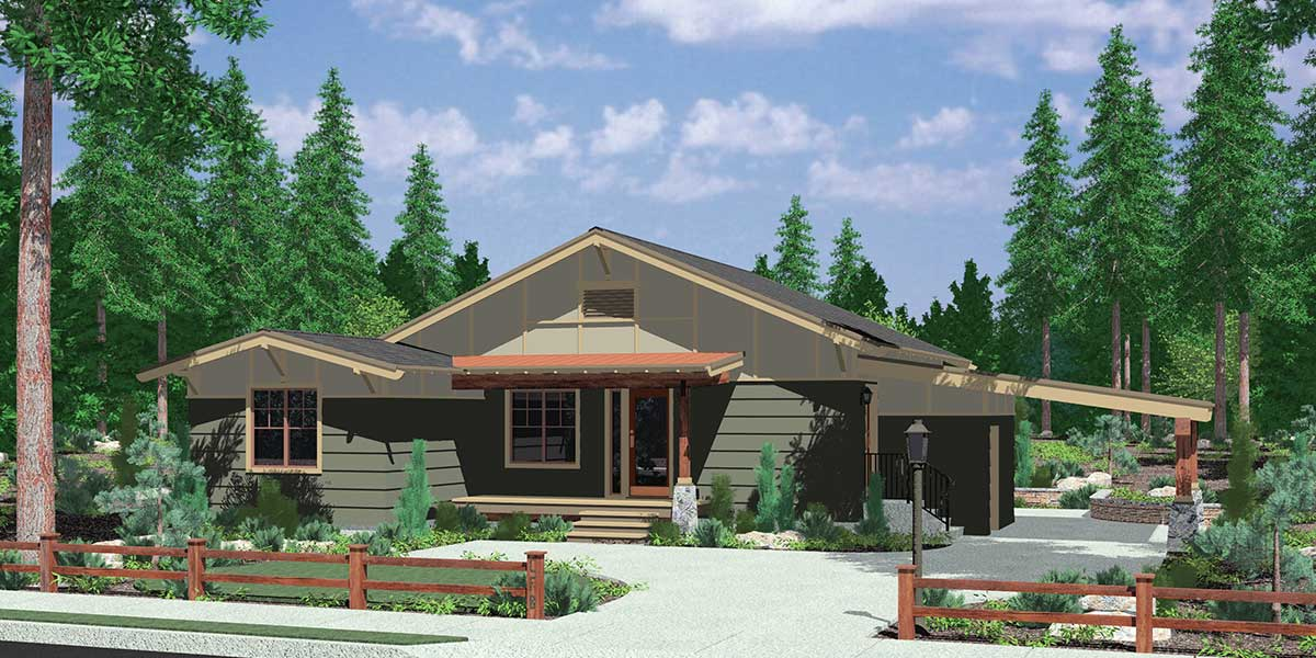 House Plans With Carport House Plan 2017