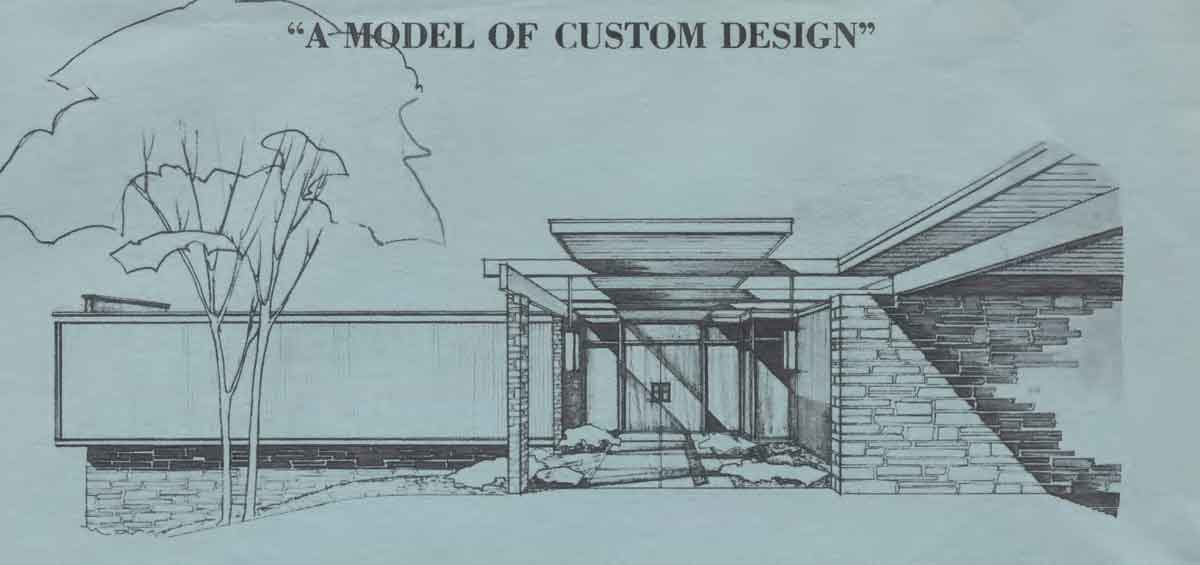 Mid Century Modern House Plans, Mid-Century Home Floor Plan