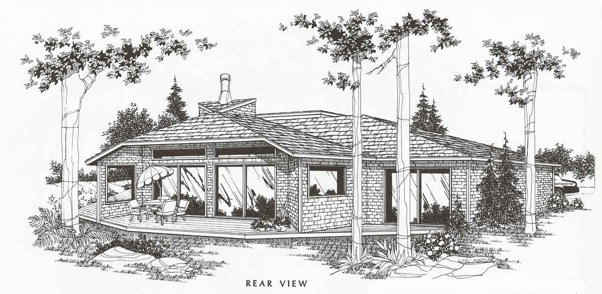 3605 unique house plan from our archives - Unique House Plans